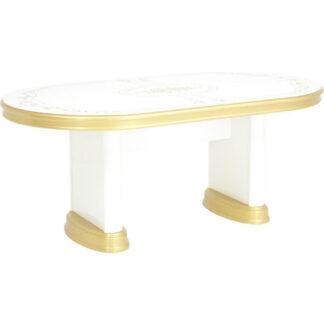 XXXLutz Jídelní Stůl Bílá Barvy Zlata Cantus