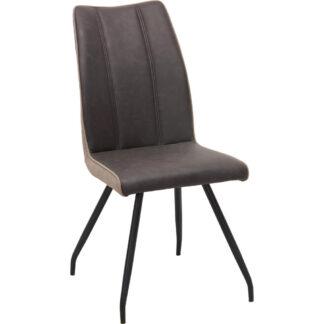 XXXLutz Židle Hnědá Černá Světle Hnědá Carryhome
