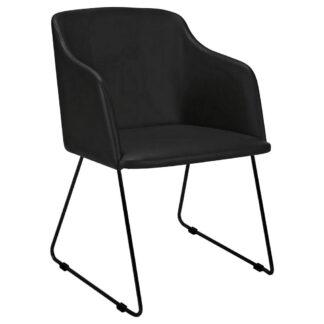 XXXLutz Židle S Područkami Černá Carryhome
