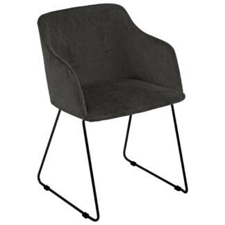 XXXLutz Židle S Područkami Tmavě Šedá Carryhome