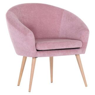 XXXLutz Křeslo Textil Pink Carryhome
