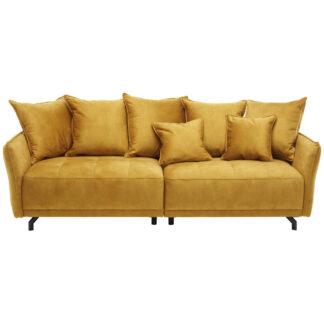 XXXLutz Mega Pohovka Textil Žlutá Carryhome