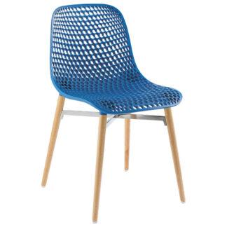 XXXLutz Židle Modrá Barvy Buku