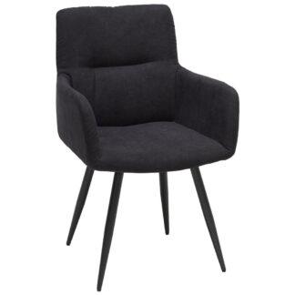 XXXLutz Židle S Područkami Antracitová Hom`in