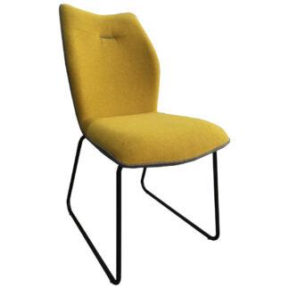 XXXLutz Židle Žlutá Šedá Novel