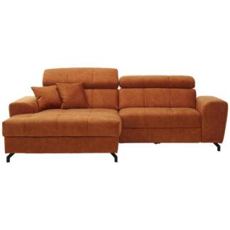 XXXLutz Sedací Souprava Textil Oranžová Carryhome