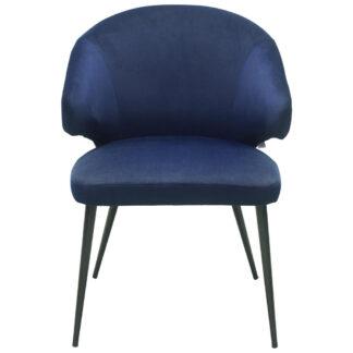 XXXLutz Židle S Područkami Modrá Lomoco