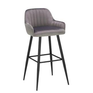 XXXLutz Barová Židle Šedá Carryhome