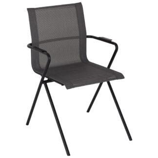 XXXLutz Stohovatelná Židle Antracitová Šedá Ambia Garden