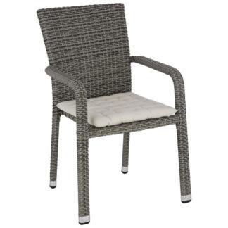 XXXLutz Stohovatelná Židle Šedá Černá Ambia Garden