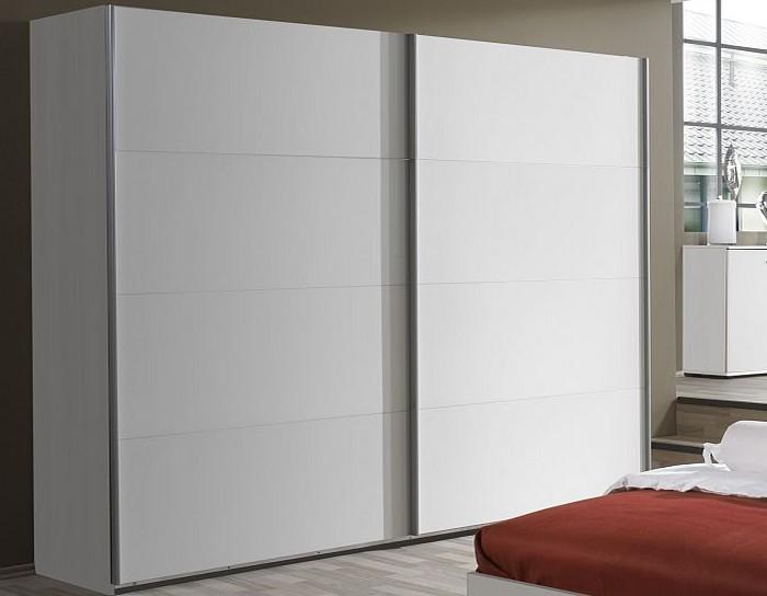 Asko Šatní skříň Easy Plus, 225 cm, bílá