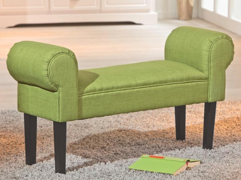 Asko Lavice Norset, zelená tkanina