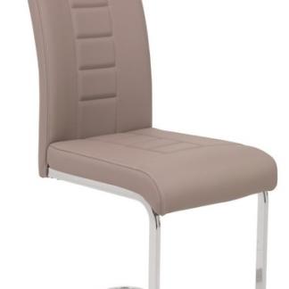 Asko Jídelní židle Ruby, cappuccino ekokůže