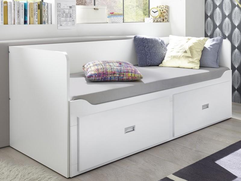 Asko Rozkládací postel se zásuvkami Bergen 80x200 cm
