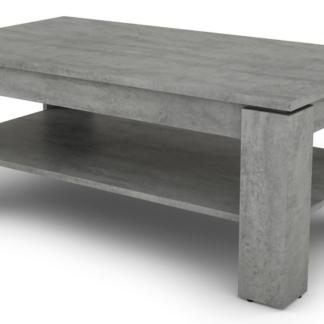 Asko Konferenční stolek Inter, šedý beton