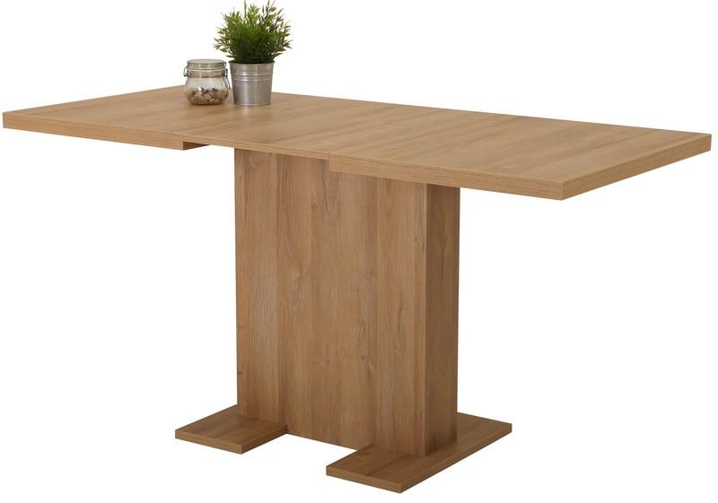 Asko Jídelní stůl Lisa 110x70 cm, starý dub, rozkládací