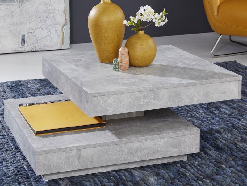 Asko Konferenční stolek Universal 119, šedý beton