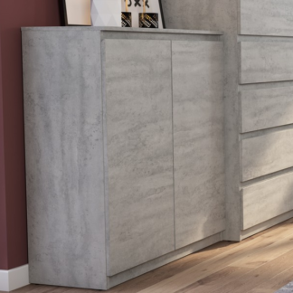 Asko Skříňka Carlos 802D, šedý beton