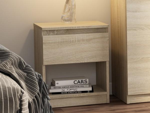 Asko Skříňka/noční stolek Carlos 401S, dub sonoma