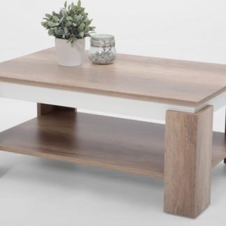 Asko Konferenční stolek Tim 2, dub divoký/bílá