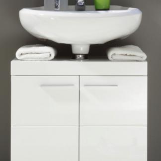 Asko Koupelnová skříňka pod umyvadlo Amanda 301, lesklá bílá