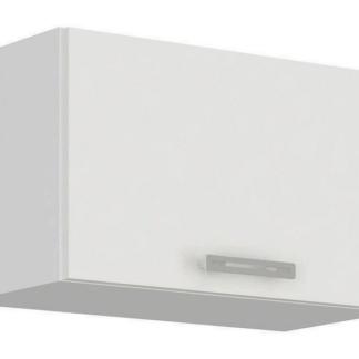 Asko Horní kuchyňská skříňka Latte 60OK-40, bílý lesk, šířka 60 cm