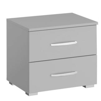 Asko Noční stolek Aditio, světle šedý