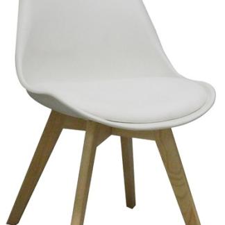 Asko Jídelní židle Larsson, bílá
