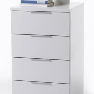 Asko Vysoký noční stolek/skříňka Samson Plus, bílý