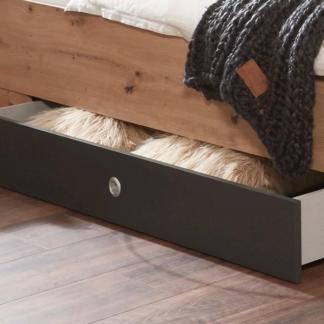 Asko Úložná zásuvka pod postel Coventry, antracitová ocel