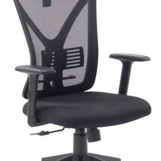 Asko Kancelářská židle Image, černá látka