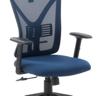 Asko Kancelářská židle Image, modrá látka
