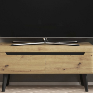 Asko Televizní skříňka Nordi, dub artisan, 107 cm