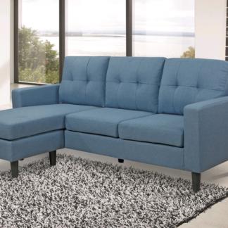 Asko Univerzální sedací souprava/pohovka Halmstad, modrá tkanina