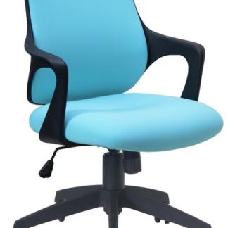 Asko Kancelárská židle Marika, světle modrá látka