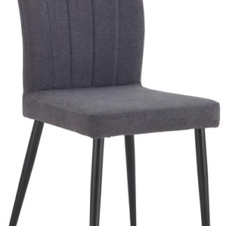 Asko Jídelní židle Padua, tmavě šedá látka