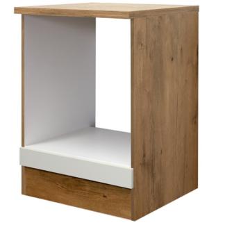 Asko Kuchyňská skříňka pro vestavnou troubu Avila HU60, dub lancelot/krémová, šířka 60 cm
