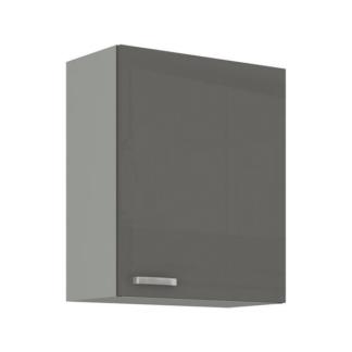 Asko Horní kuchyňská skříňka Grey 60G-72, 60 cm