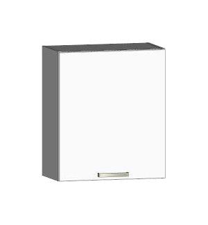 Asko Horní kuchyňská skříňka One EH60, pravá, bílý lesk, šířka 60 cm