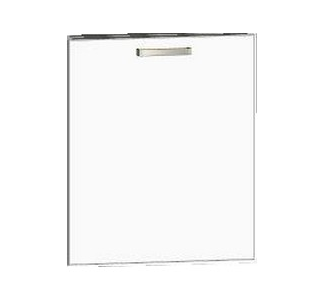 Asko Přední panel na vestavnou kuchyňskou myčku One K60UV, bílý lesk, šířka 60 cm