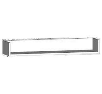 Asko Nástěnná police One MP90, bílá, šířka 90 cm