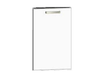 Asko Přední panel na vestavnou kuchyňskou myčku One K45UV, bílý lesk, šířka 45 cm