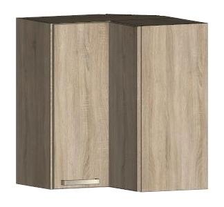 Asko Horní rohová kuchyňská skříňka One EH65RL, dub sonoma, šířka 65 cm