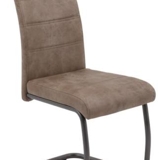 Asko Jídelní židle Flora 4, béžová vintage látka