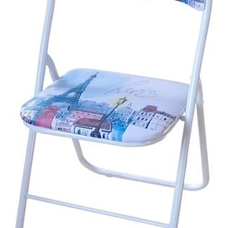Asko Skládací židle Jamos, motiv Paříže