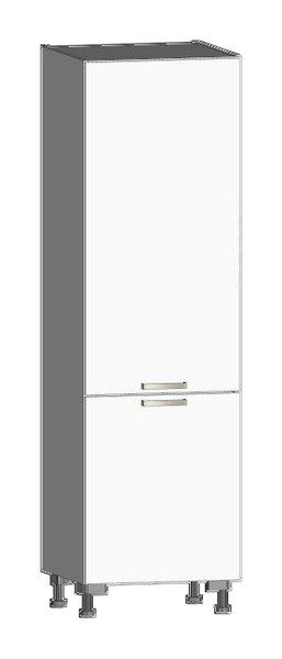 Asko Kuchyňská skříň pro vestavnou lednici One CHU, bílý lesk, šířka 60 cm