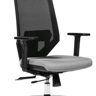 Asko Kancelářské křeslo Edge, šedé/černé